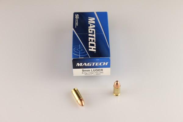 Magtech 9mm FMJ 124 GRS #9B