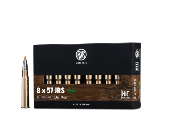 RWS 8x57 JS Hit 10,4g/160 gr 20St/Pk