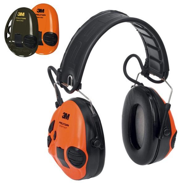 3M™ Peltor™ SportTac™ Oliv/Orange, Camo, Rot, Schwarz