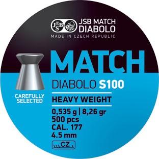 JSB Match Schwer 0,535 g, Blue Blau