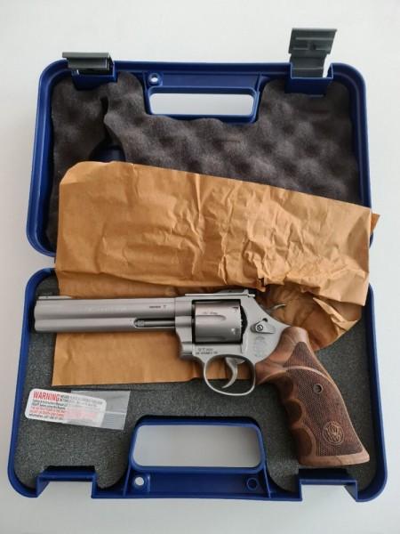 S&W Revolver 686 TC Match Master .357