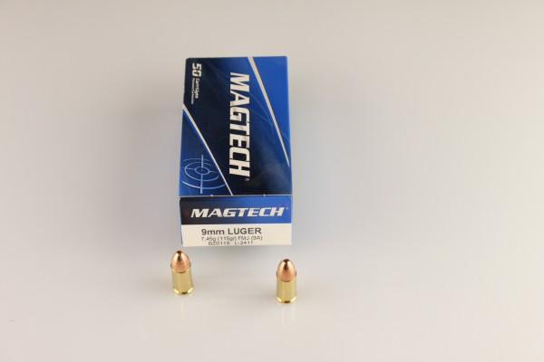 Magtech 9mm FMJ 115 GRS #9A