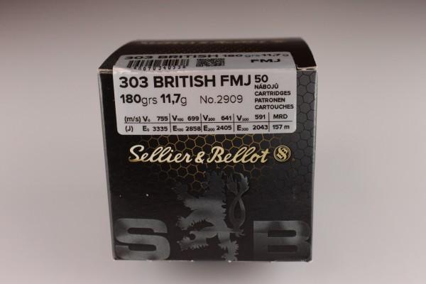 S&B .303 British VM 180 GRS 50 Stück