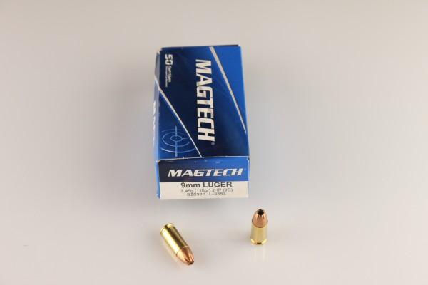 Magtech 9mm JHP 115 GRS #9C
