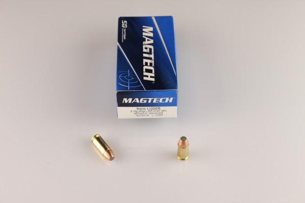 Magtech 9mm JSP-Flat 95 GRS #9F