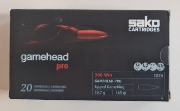 Sako Gamehead Pro .308Win 10,7g/165gr