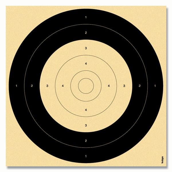 Spiegel BDS 100m Scheibe 260x260 250 St. 4403