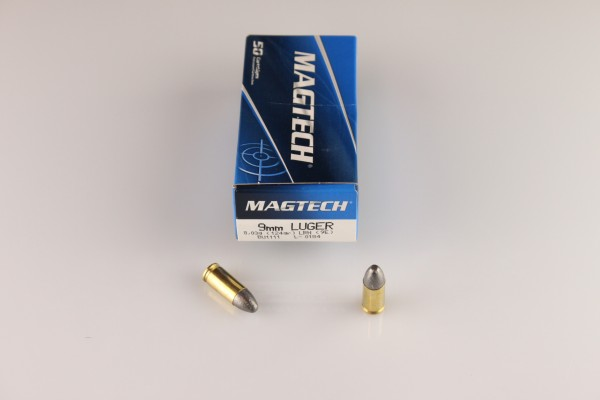 Magtech 9mm SUB JHP 147 GRS #9K