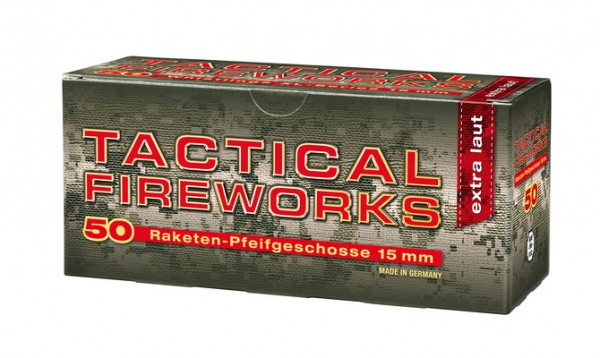 Umarex Tactical Fire Pfeiff 15mm 50er Schachtel