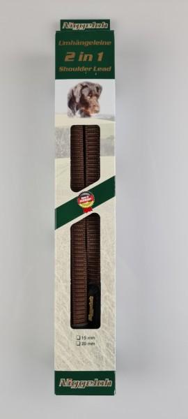 Niggelo Umhängeleine 2 in 1 L=4m/15mm