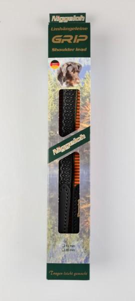 Niggeloh Umhängeleine Grip 15mm L=2m/3,20m braun