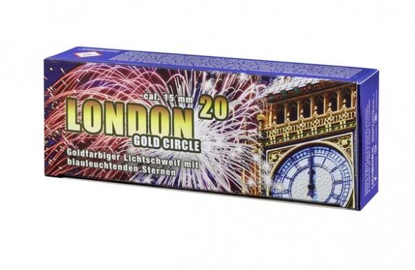 Umarex Pyro London Gold Circle 20er Schachtel